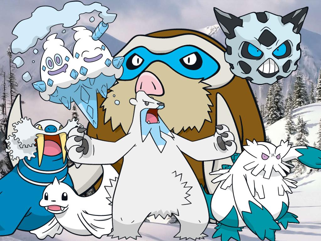 ice type pokemon wallpaper - photo #12