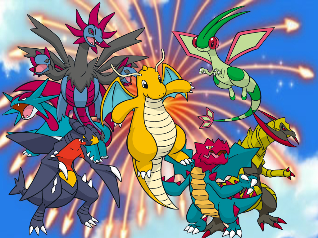 Dragon Type Wallpaper By Reshiramaster On Deviantart