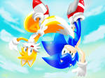Sonic And Tails - Flying High