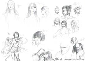 Sketches compilation autumn 2016