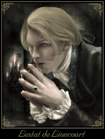 Lestat de Lioncourt by DarkDevil16
