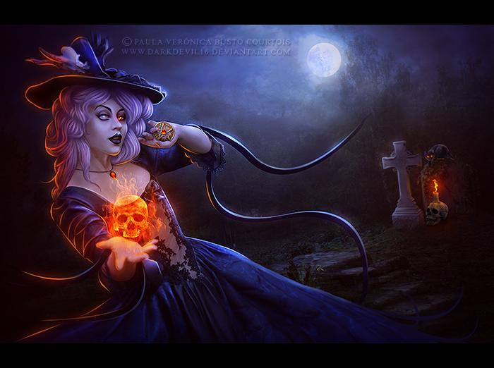 The Necromancer by DarkDevil16