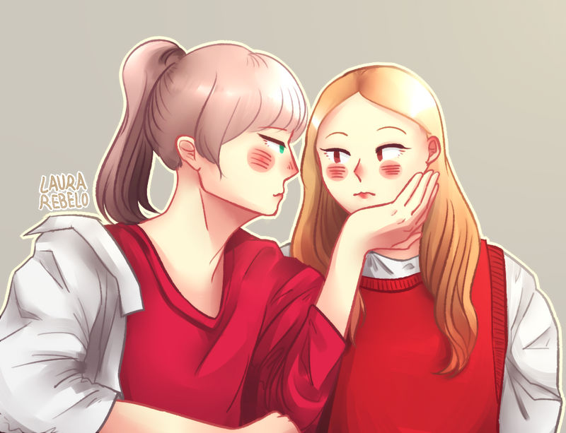 Look At Me For A Second Dahyun Ie Dahmo Twice By Laora R On