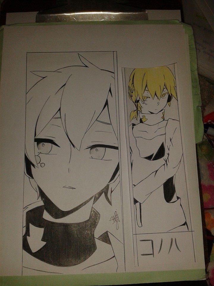 Konoha dibujo by Katsuya1100