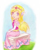 Hyrule's Little Princess by ColeyCannoli