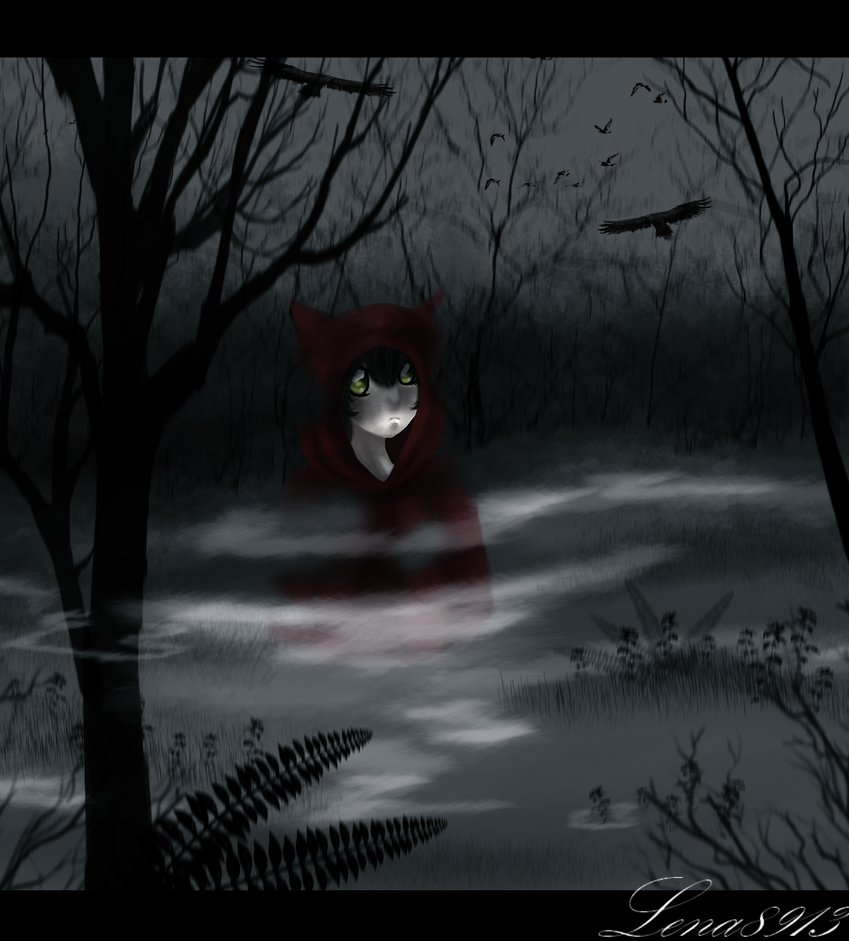 .:Haunted forest:. by lena8913
