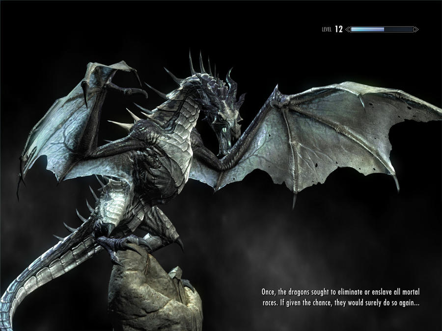 Skyrim Dragon Quotes. QuotesGram