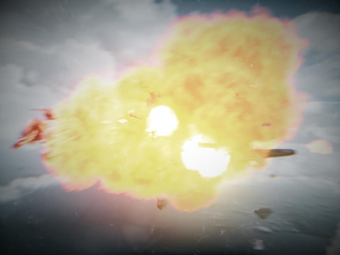Roll to Dodge the Alien Threat II: THE SEQUEL Battlefield_3_jet_explosion_by_pedrokomando-d4qldnj
