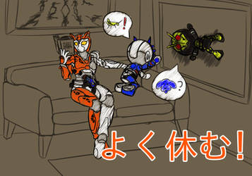 Thanks for the hard work! by KamenRiderDeCaliber