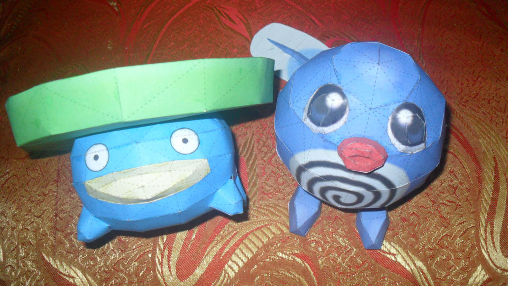 Lotad and Poliwag... Soon to be Best Partners by jed251