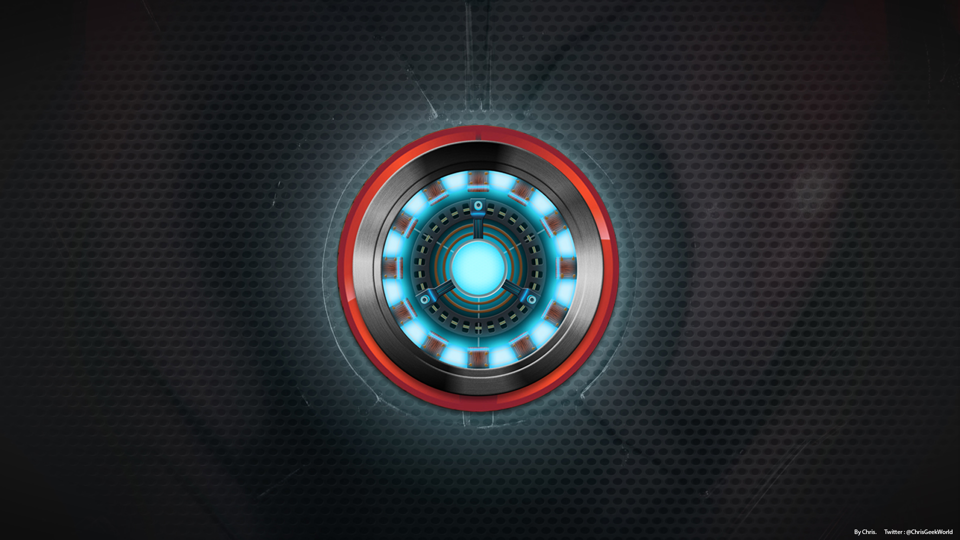 Iron Man Background by chrisarea51