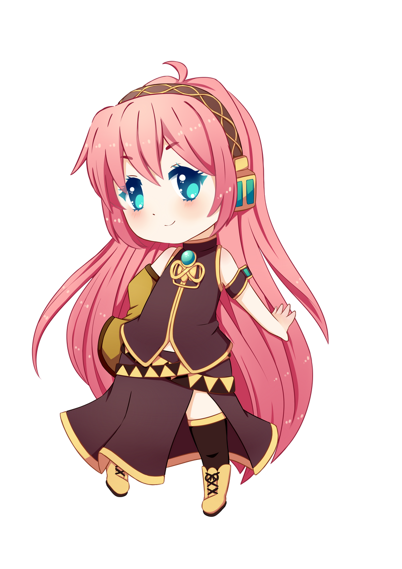 Chibi Vocaloid-Luka by kyokichin on DeviantArt