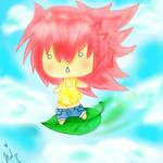 Flying Leaf Girl by chibikimchii