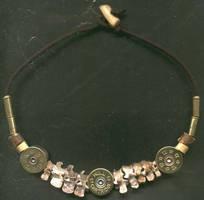 Bone necklace by sabbathgold