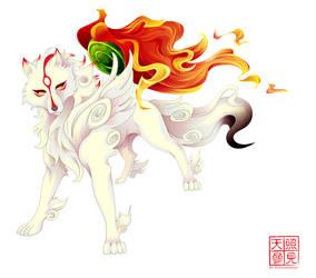 okami by whitekappa