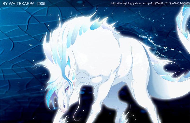 ice horse by whitekappa on DeviantArt