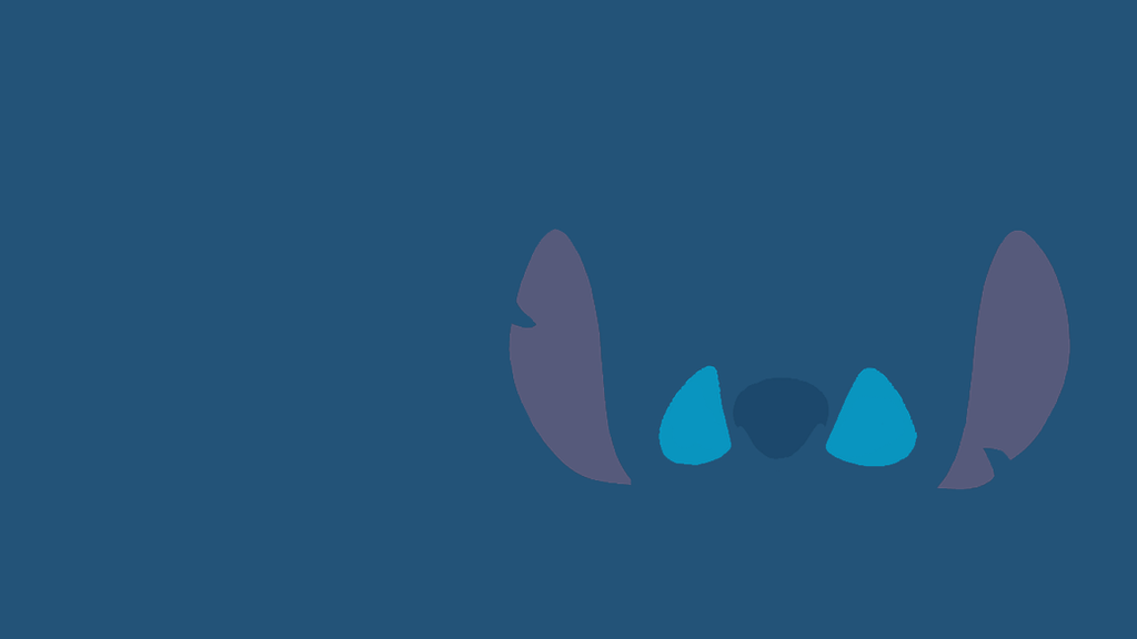 Stitch Minimalist Wallpaper By Stitchfluffy
