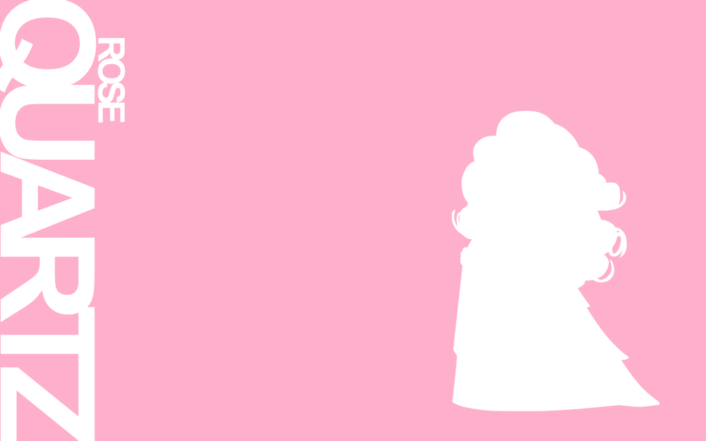 Gems wallpaper series rose quartz by stitchfluffy on - Rose quartz steven universe wallpaper ...