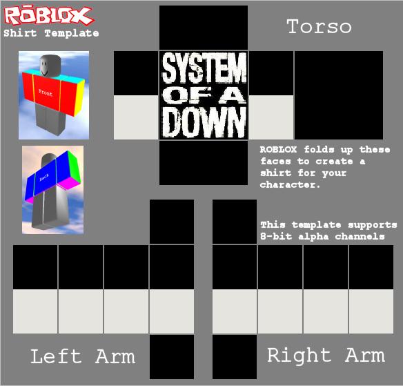 create roblox shirt