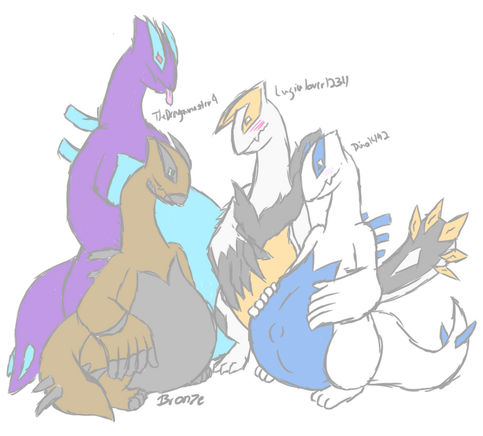 Meeting Of Lugias (Mpreg, WG) By BronzePony On DeviantArt
