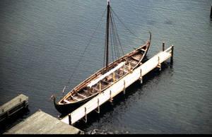 Viking longship by Grombald
