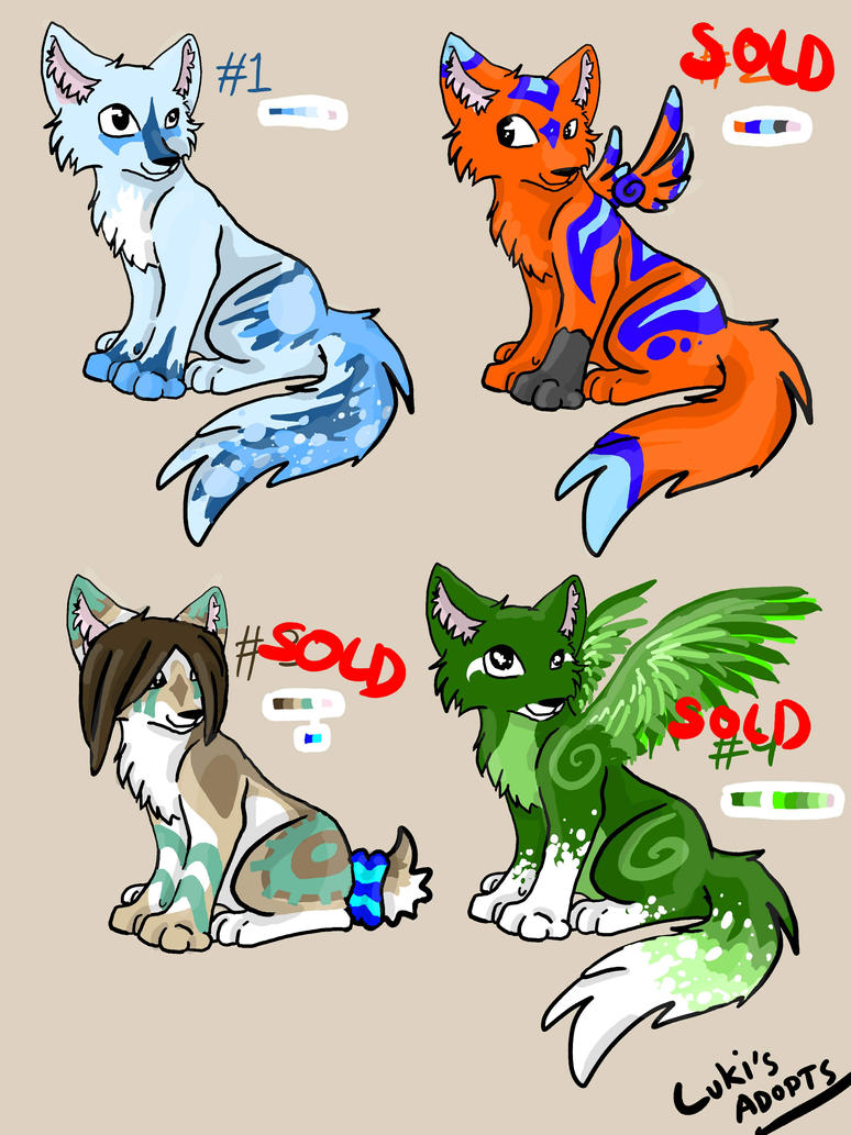 Pup Adopts~ CLOSED by Lukia26