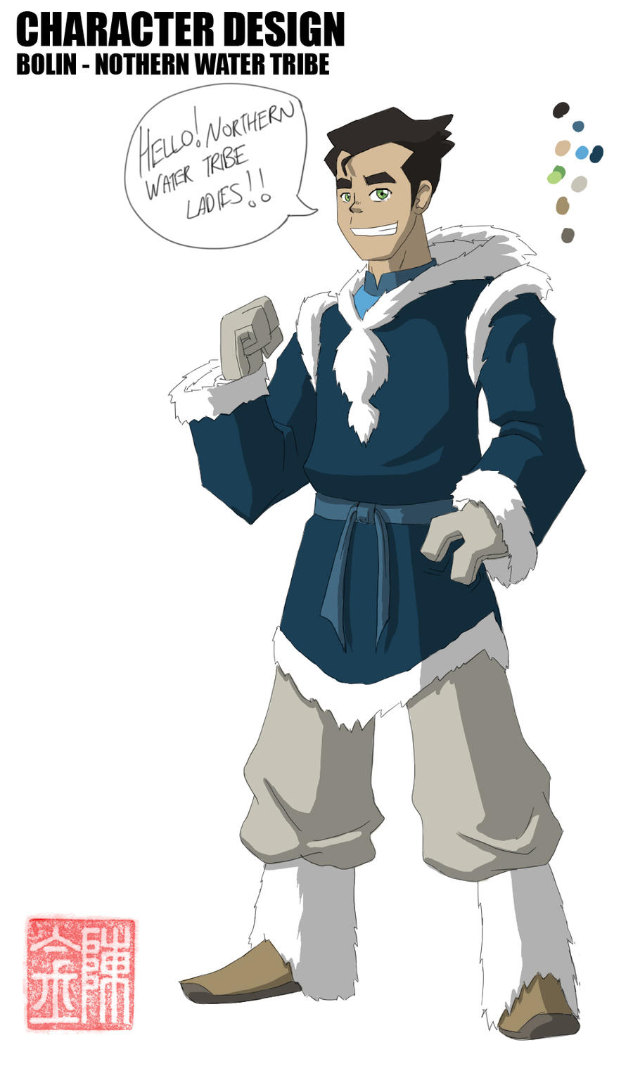 Water Tribe Bolin By Jazzyjin On Deviantart