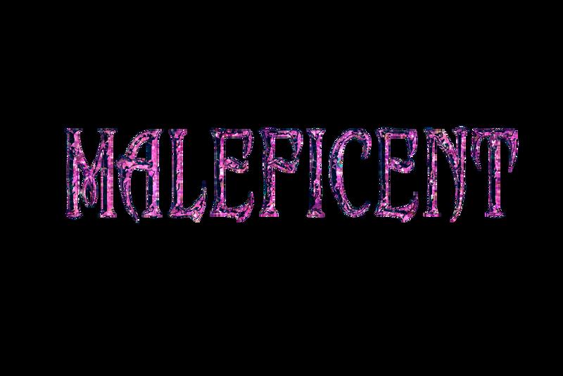 Maleficent Logo Glitter By Musicalfreakpst On Deviantart