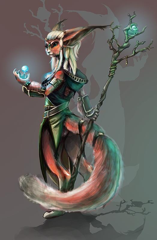Sorcerer's Guiding light by Rozen-Clowd