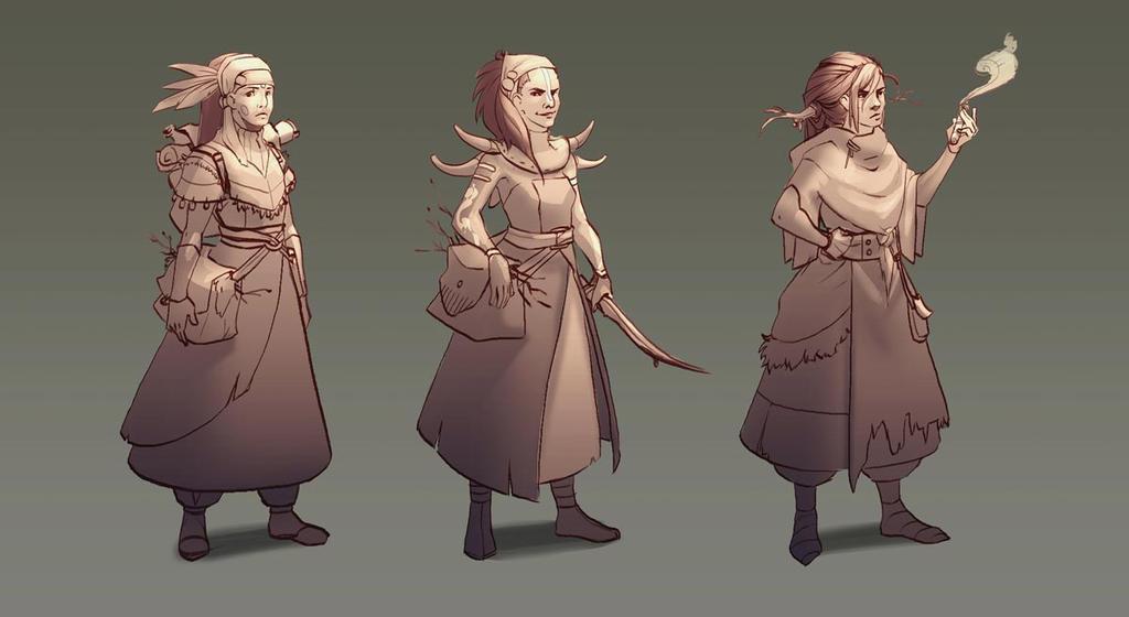 Witch Designs By Rozen Clowd On Deviantart