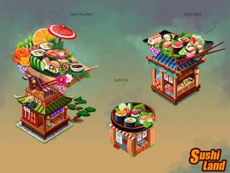 SUSHI LAND by shkshk7