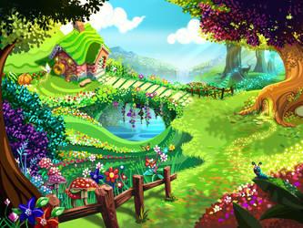 Fairy garden by shkshk7