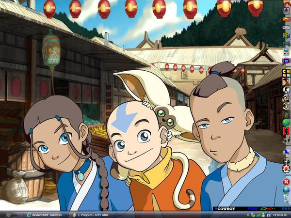 avatar desktop by nochena