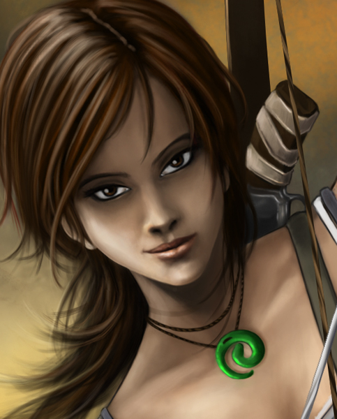 New Tomb Raider Wallpaper: Tomb Raider 2012 (Close-Up) By RaPour On DeviantArt