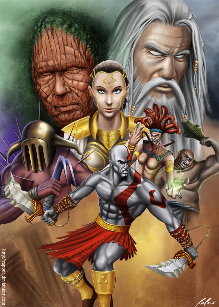 God of War 2013 by RaPour