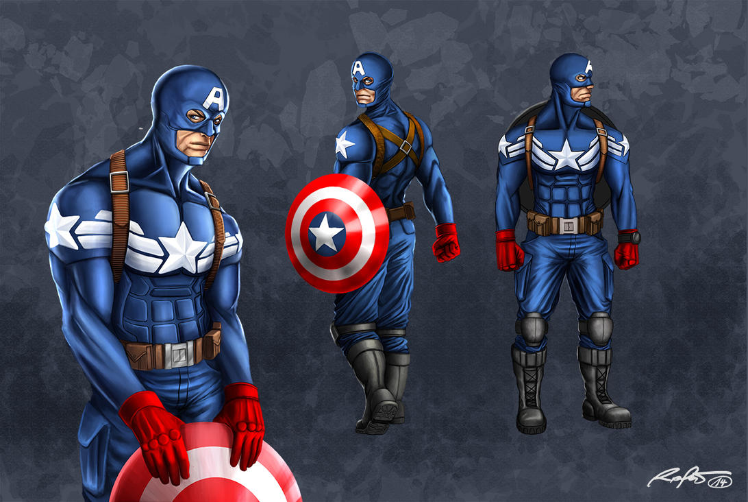 Captain America conc by RaPour