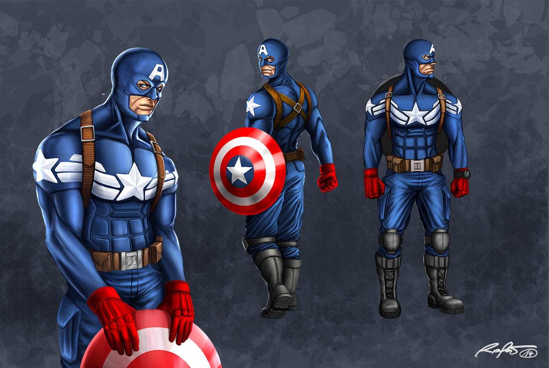 Captain America conc by RaPour