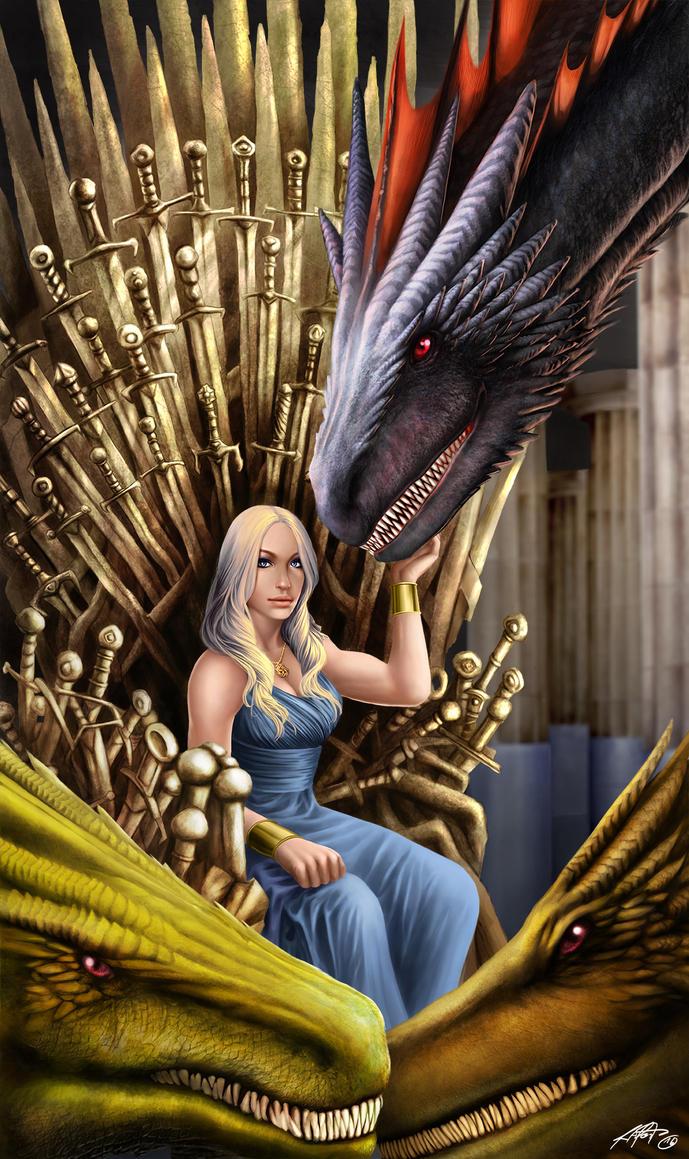 Daenerys by RaPour
