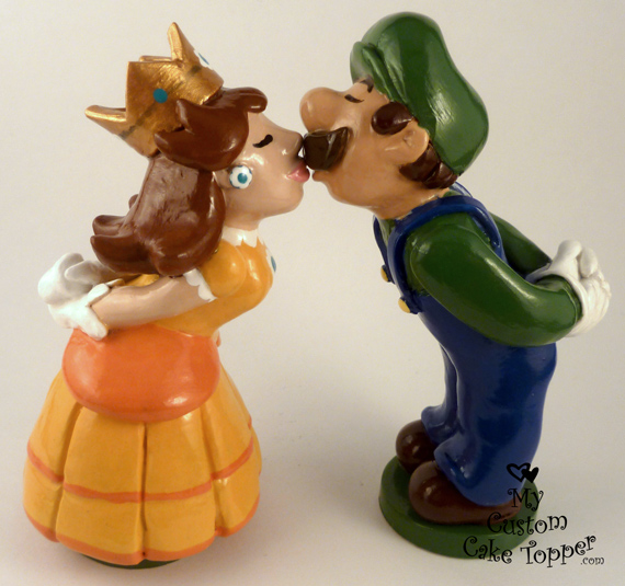 mario wedding cake topper and luigi by hollys on deviantart 17154