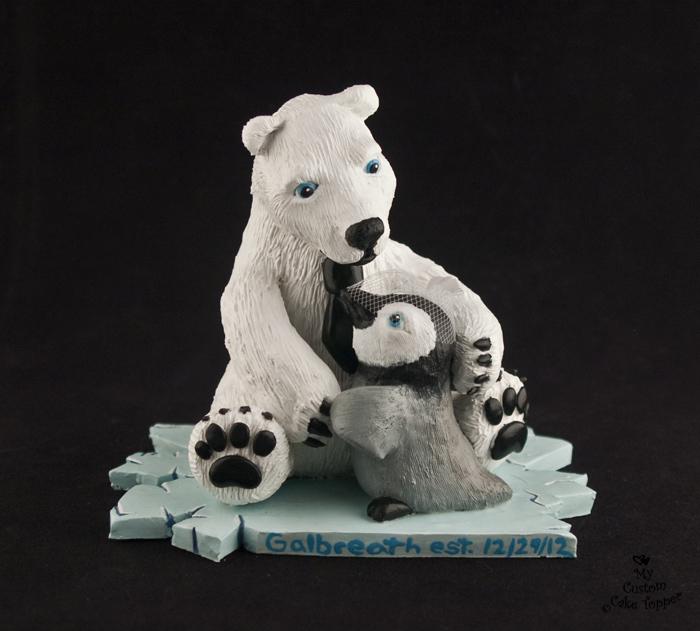 Polar Bear Hug by Hollys-Art