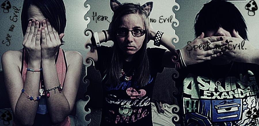 No Evil by ChristineChoreomania