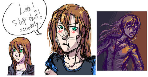 Some Alice's doodles by Pandoraz-Kyle