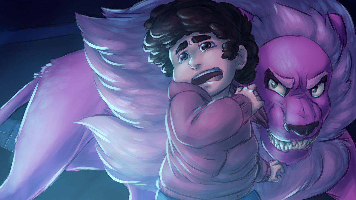 Screenshot redraw of Steven Universe I did during one of the recent steven bomb Screen reference : imgur.com/a/XtS4K6g