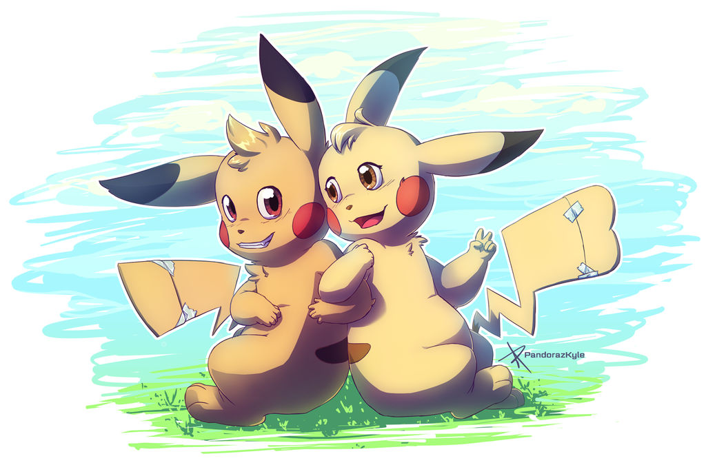 The trans pikachu buddies