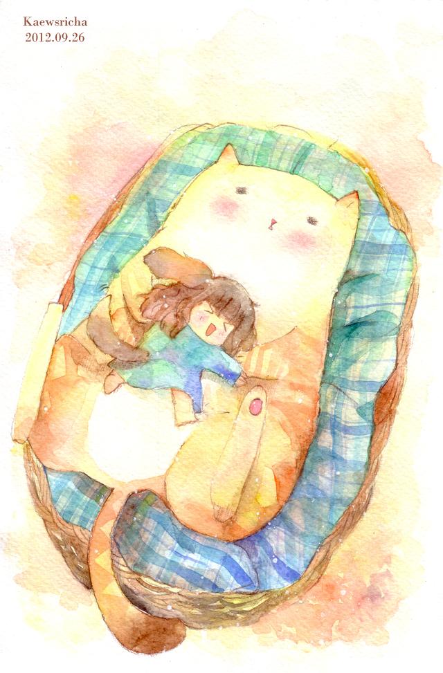 Warm bed by Kaewsricha