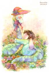 I love you, mom by Kaewsricha