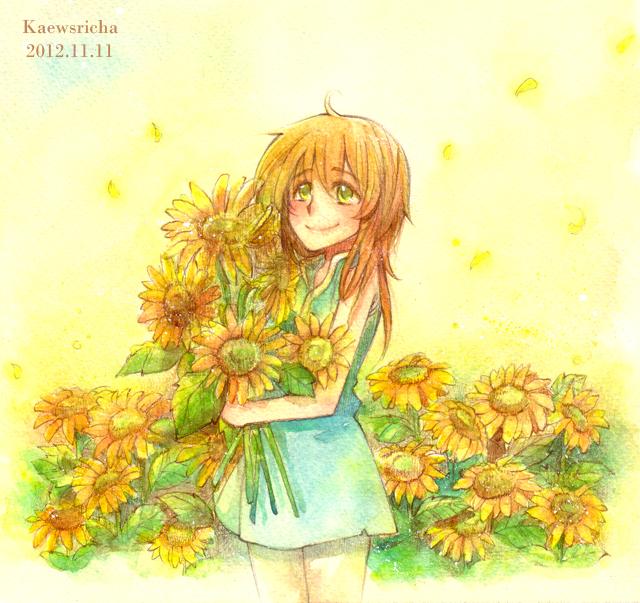 Sunflower by Kaewsricha