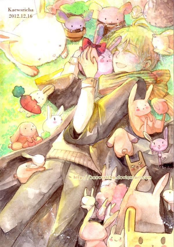 My beloved rabbits by Kaewsricha