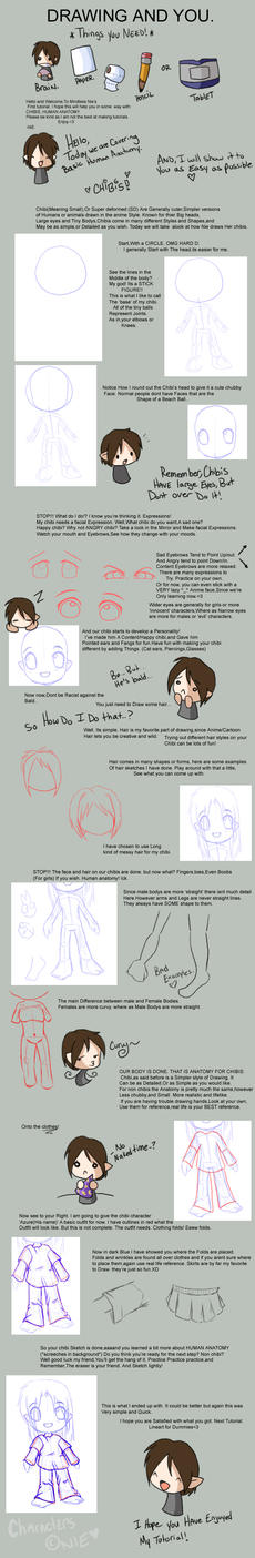 Chibi and Anatomy Tutorial :1