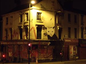 banksy art - liverpool by redkar